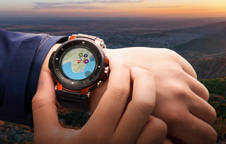 ساعت هوشمند کاسیو Pro Trek Smart WSD-F30
