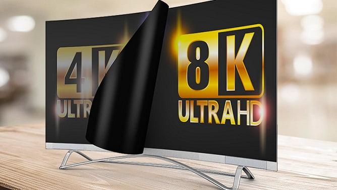 عقب نشینی تلویزیونهای 8K