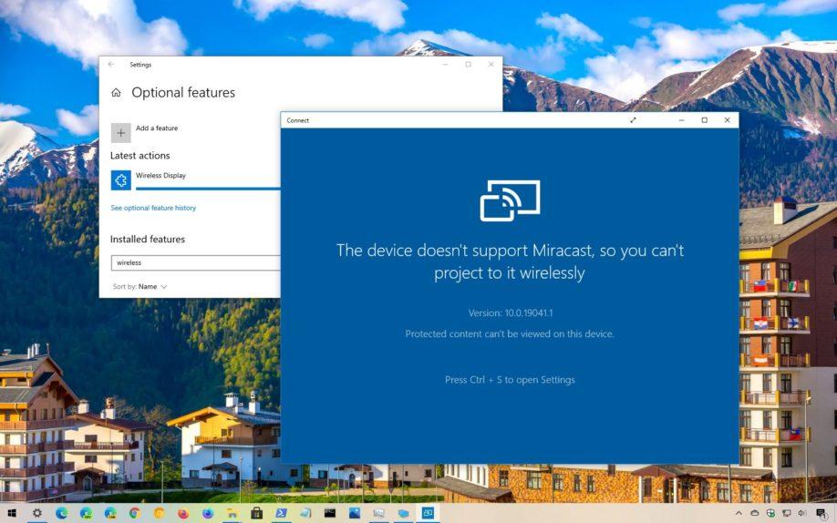 نصب دوباره اپلیکیشن Connect در ویندوز 10