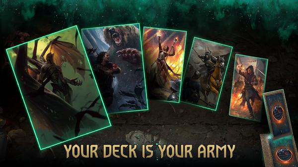 بهترین بازی های موبایل سال 2020 GWENT: The Witcher Card Game
