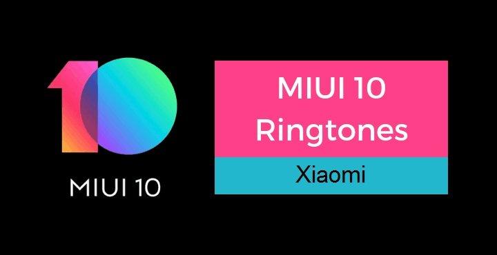دانلود رینگتون و آهنگ زنگ اصلی شیائومی در MIUI 10