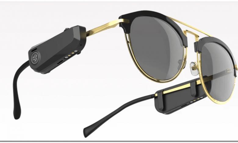 طرح جدید هدفونی که می تواند روی عینک نصب شود