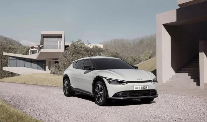 تصاویر رسمی خودرو الکتریکی کیا EV6 منتشر شد