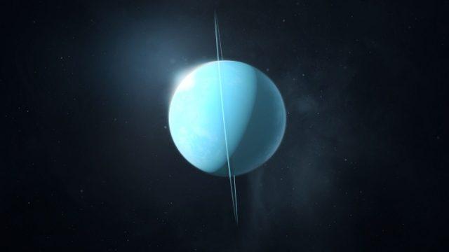 شیب محوری اورانوس 99 درجه است