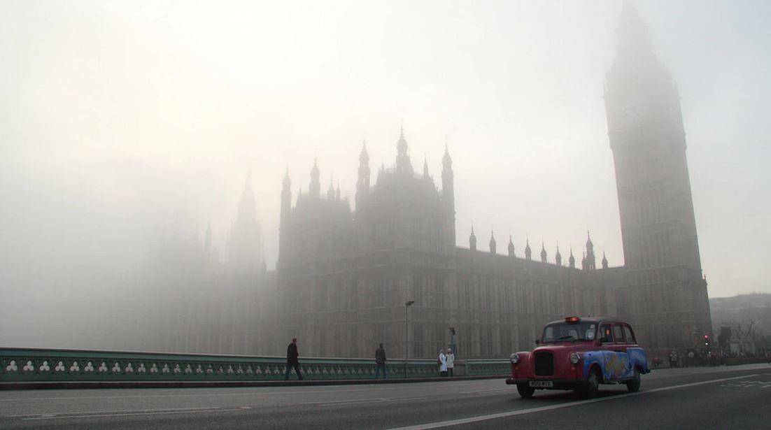 تاریخچه مختصری از مه در لندن