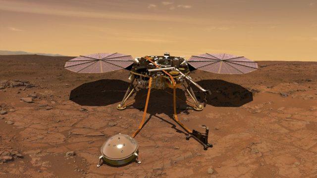 تلاش های انسان برای فتح مریخ