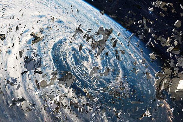 آیا پرتاب زباله به فضا ممکن است؟